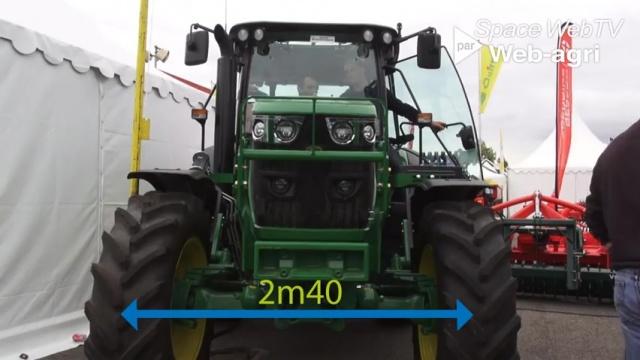 Tracteur d'élevage - La petite nouvelle de la série 6 de John Deere : la Compact