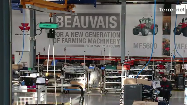 Tracteurs made in France - Massey Ferguson confirme son attachement pour Beauvais