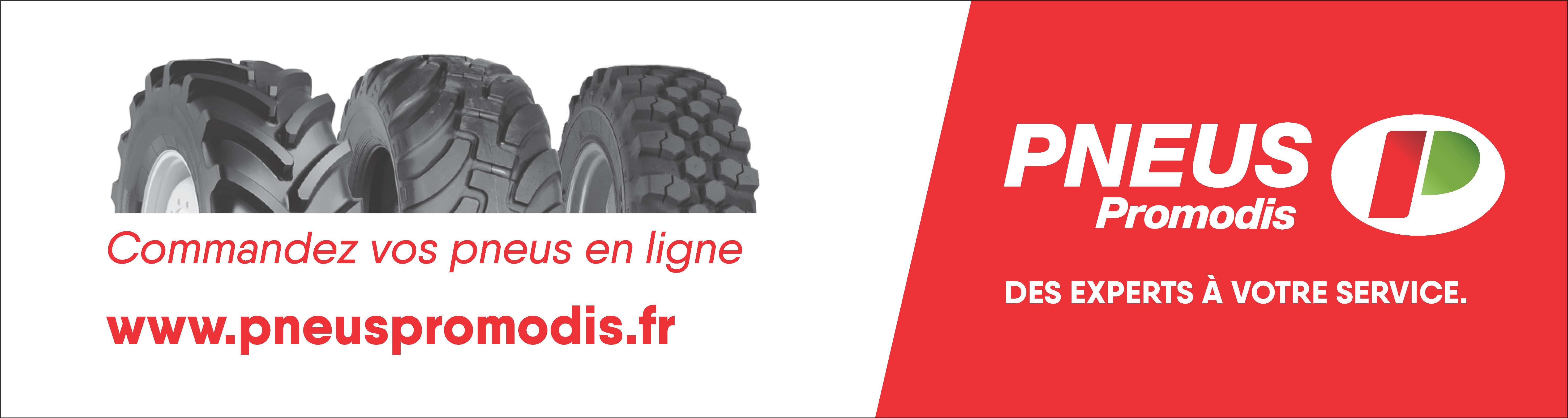 NOUVEAU ! Commandez vos pneus en ligne sur www.pneuspromodis.fr