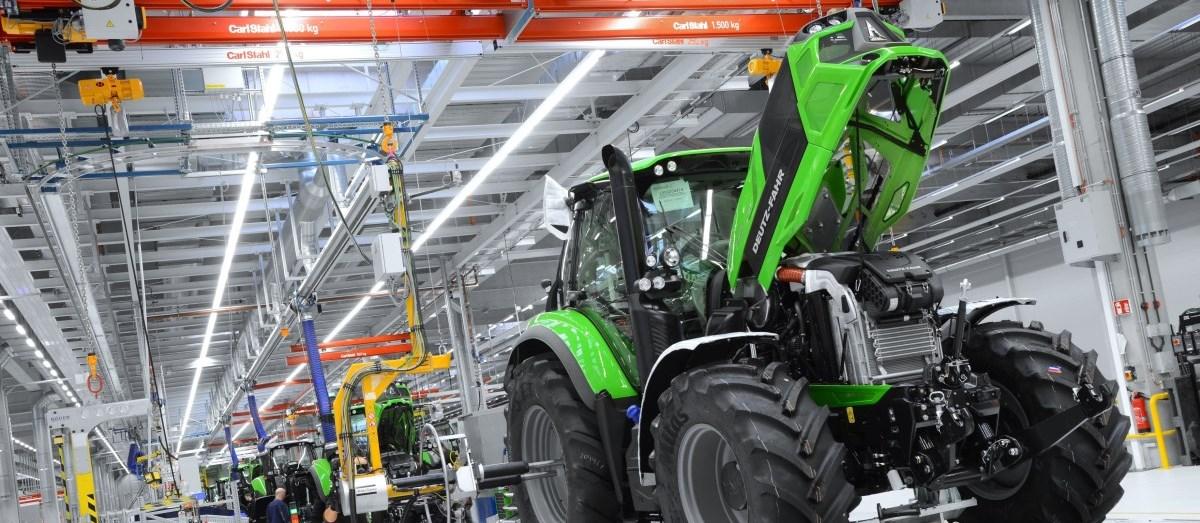 Découvrez la nouvelle usine Deutz Fahr