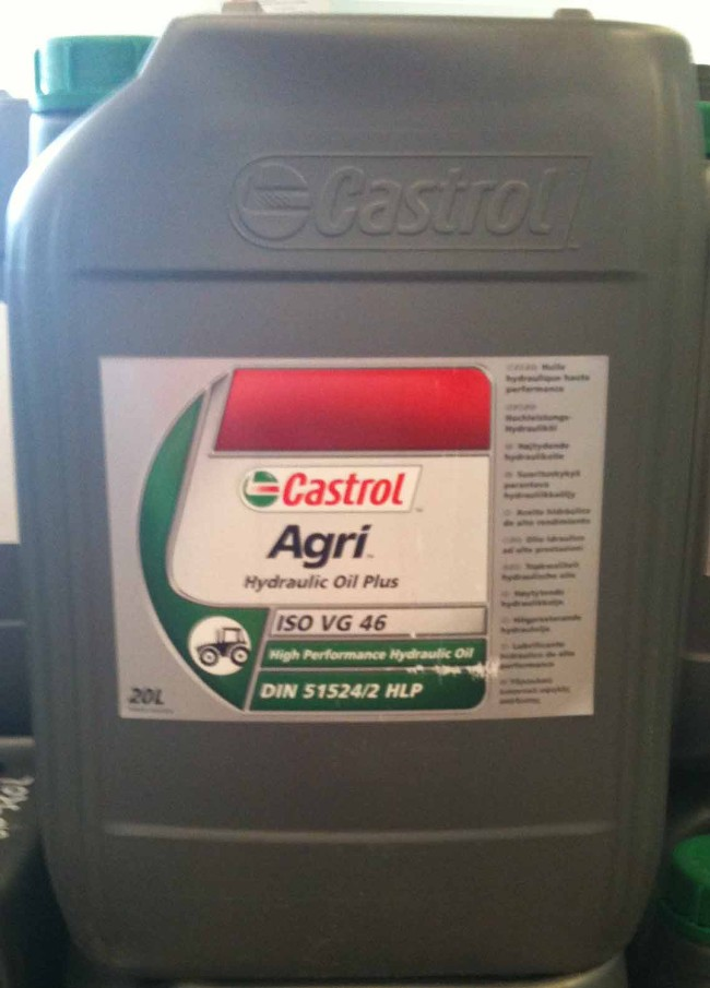 Castrol Hydraulique Oil Plus Huile Hydraulique Minérale à haut indice de viscosité, pour des applications où les grades ISO VG 32 .46 ou 68 sont requis.