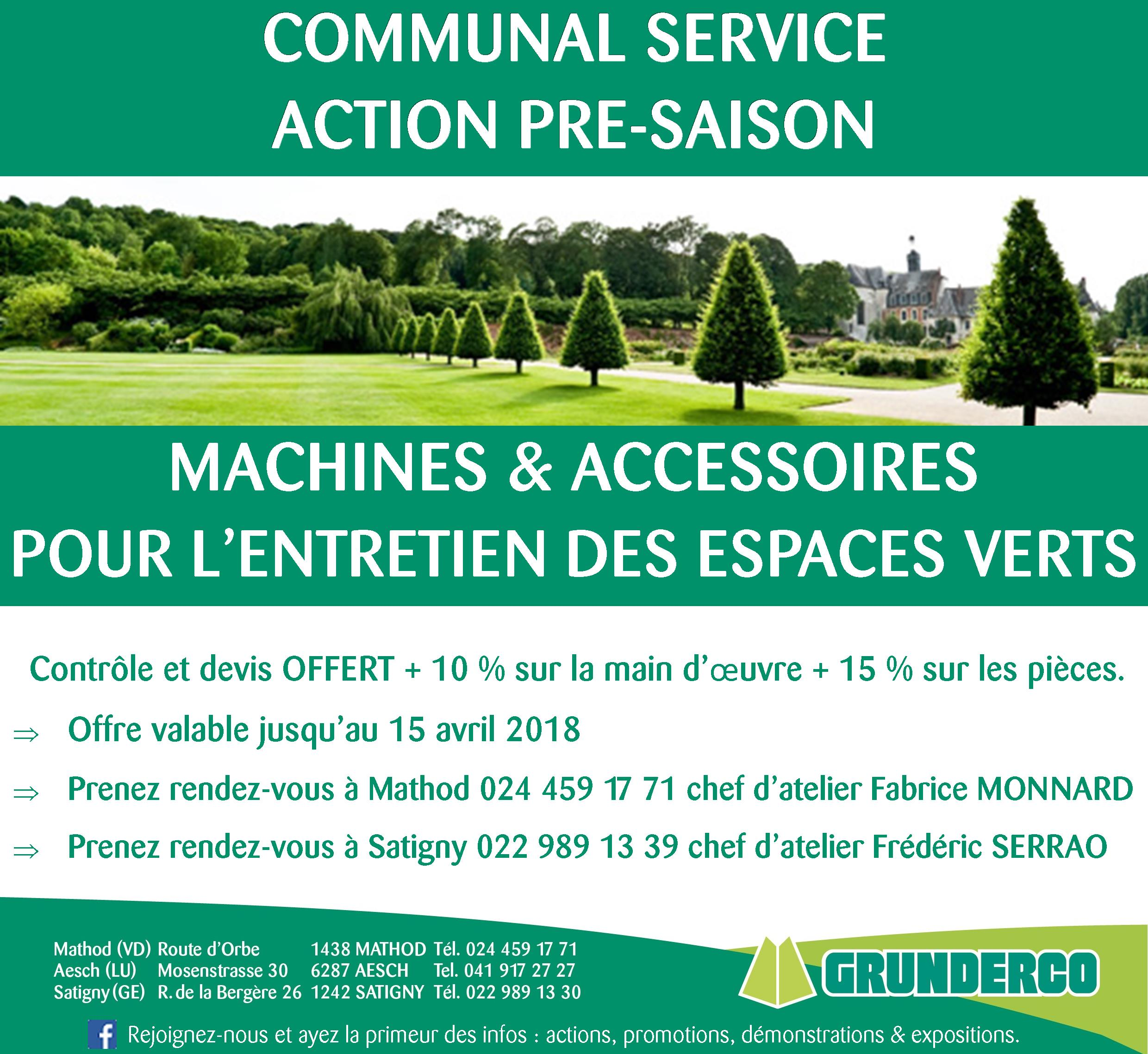Action atelier communal