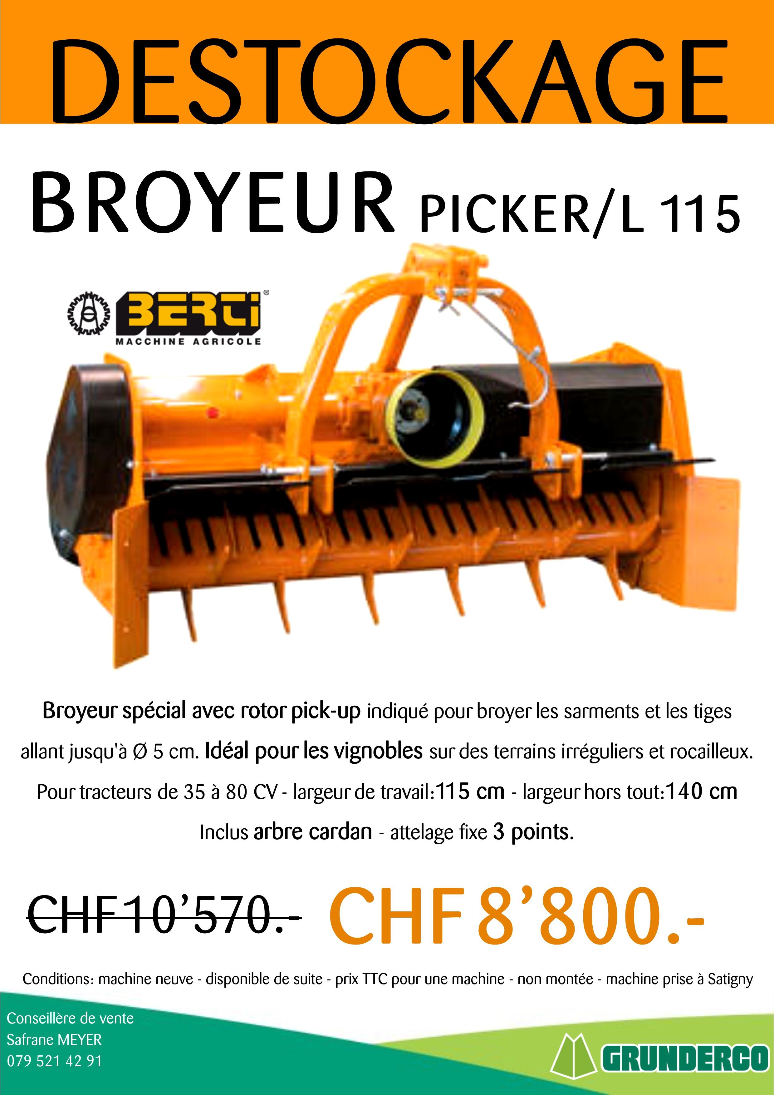 BROYEUR - PICKER/L115