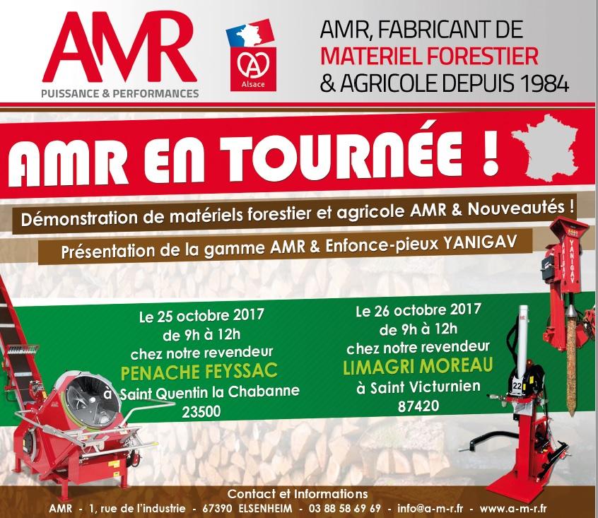 AMR est en tournée!!!
