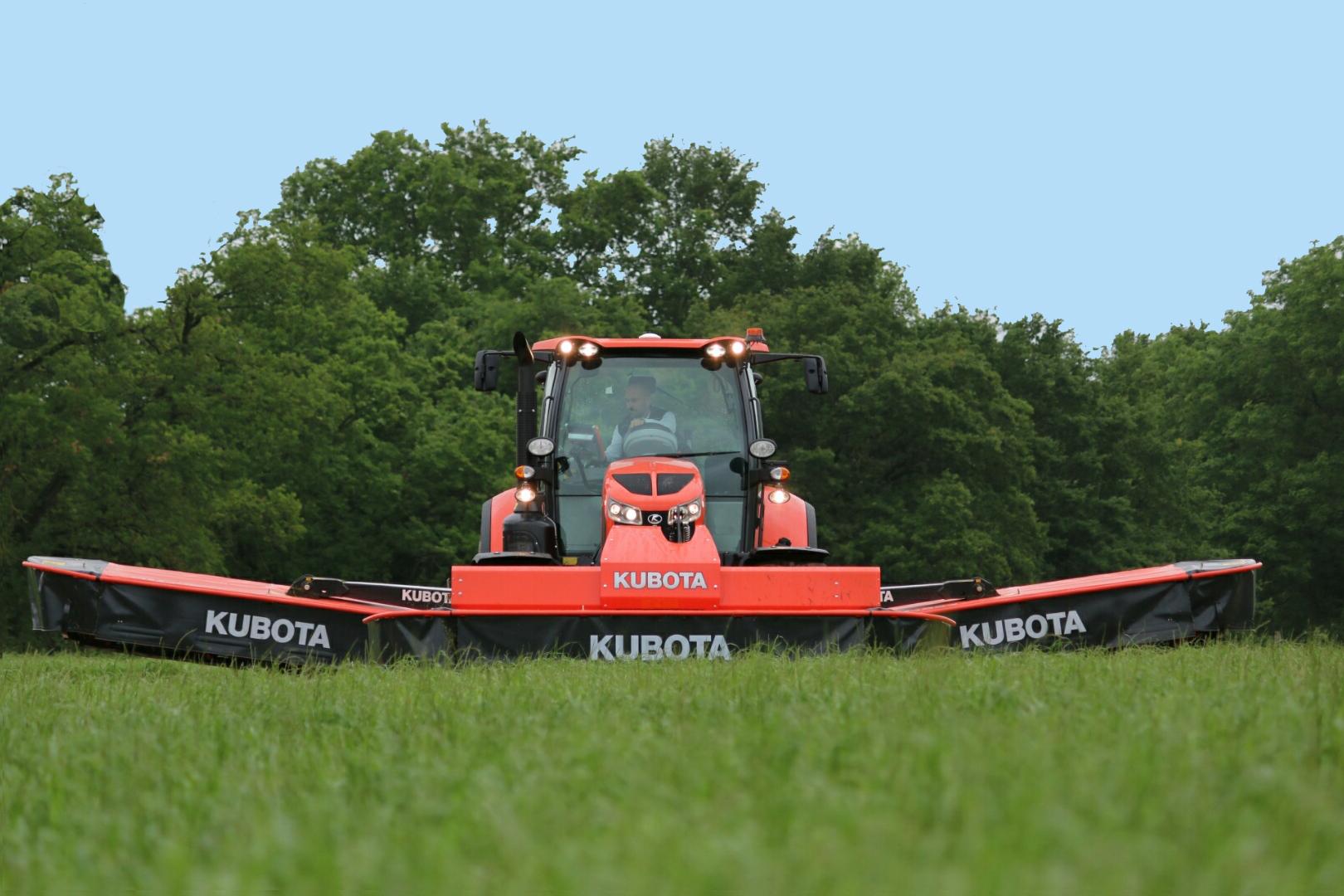 Nouveaux tracteurs KUBOTA série M7001