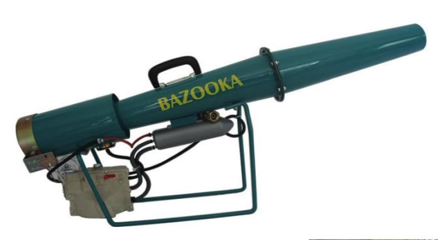 Canon effaroucheur BAZOOKA mécanique