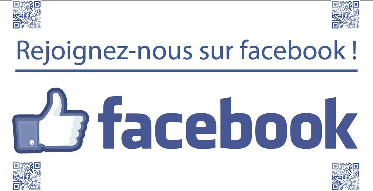 Suivez toutes nos actualités en direct sur Facebook !