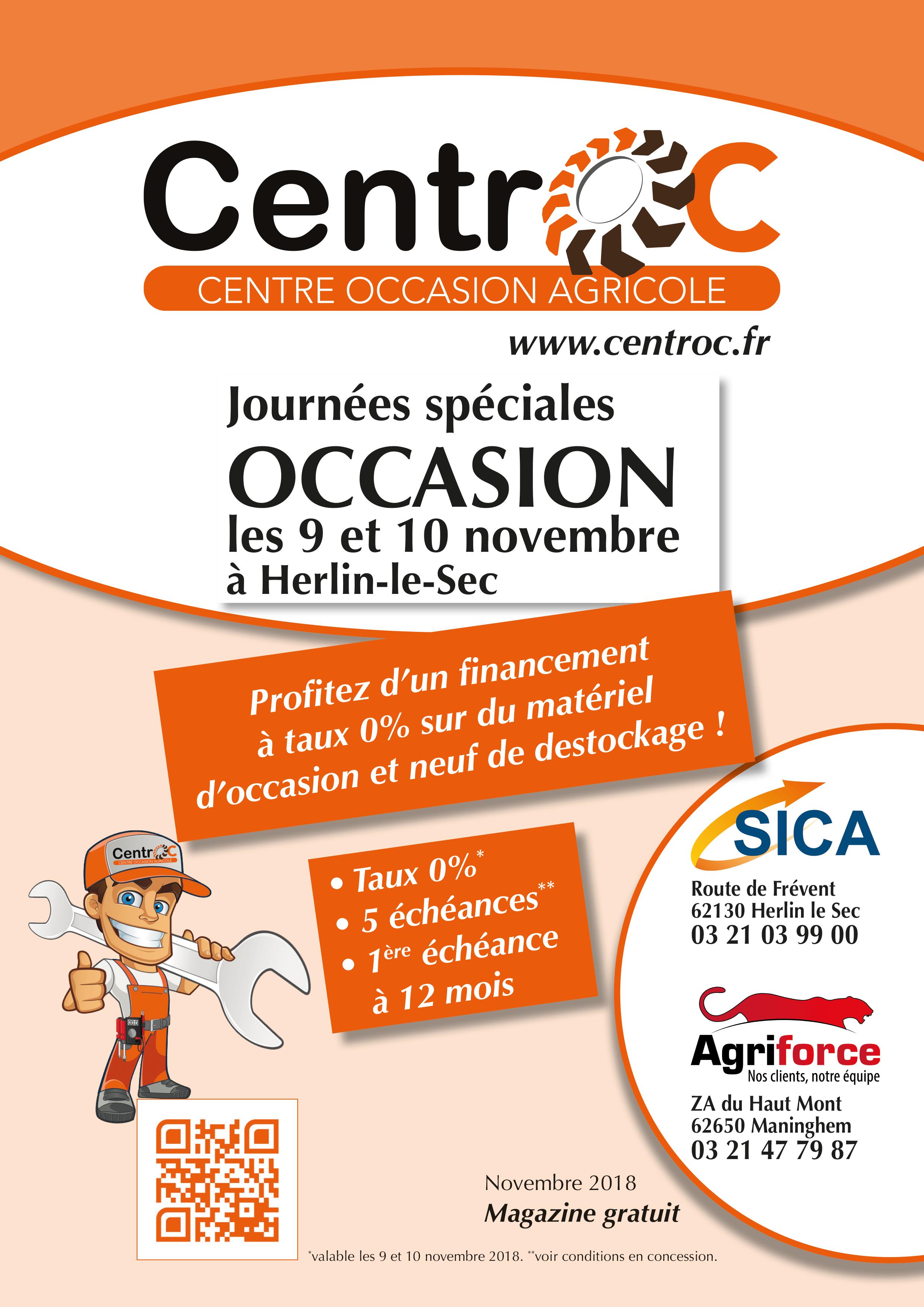 Catalogue Centroc - Journées Spéciales OCCASION
