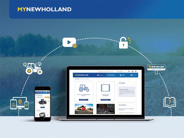 Consultez votre nouvelle application New Holland