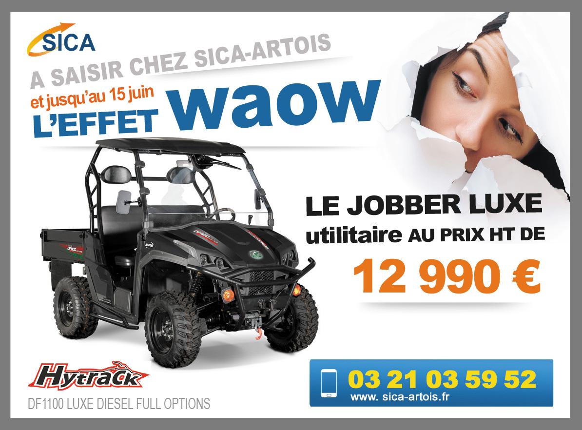 Quad « Le Jobber » à prix Waow !