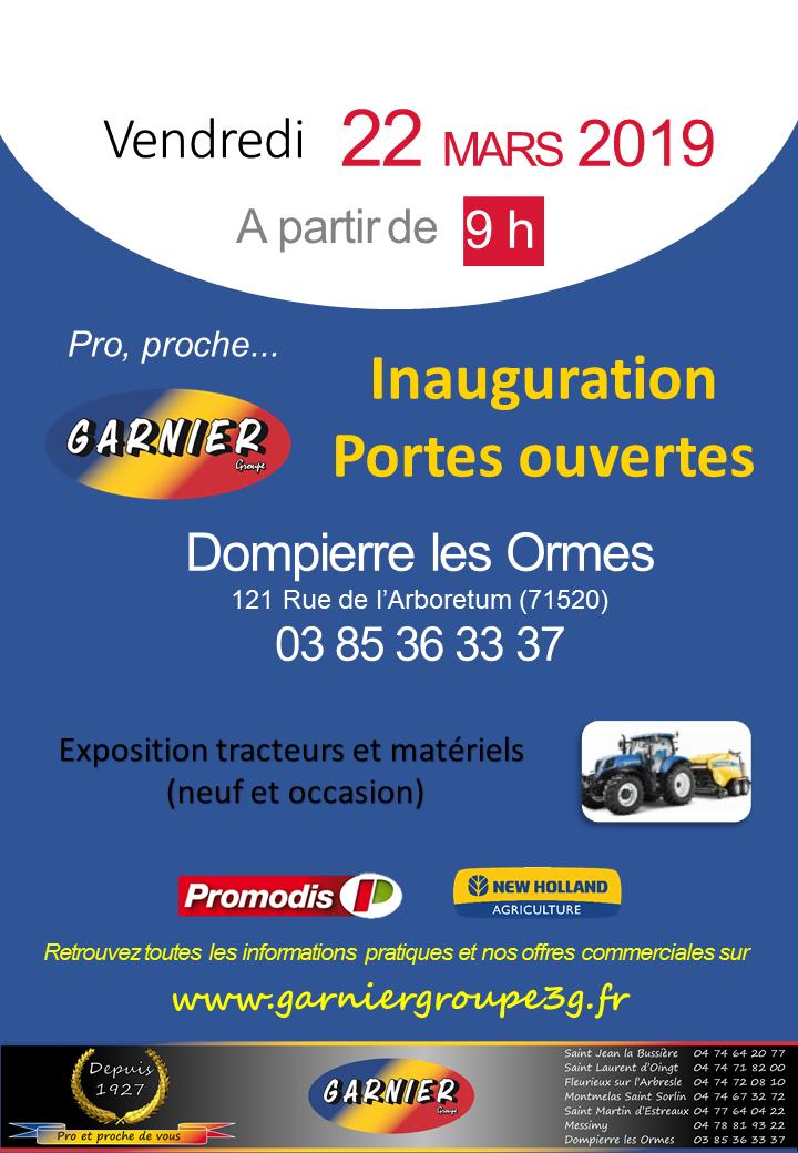 Portes Ouvertes Dompierre - 22/03/2019