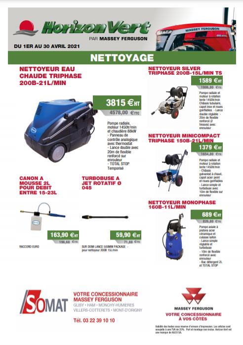 Nettoyage Ranson et consommables