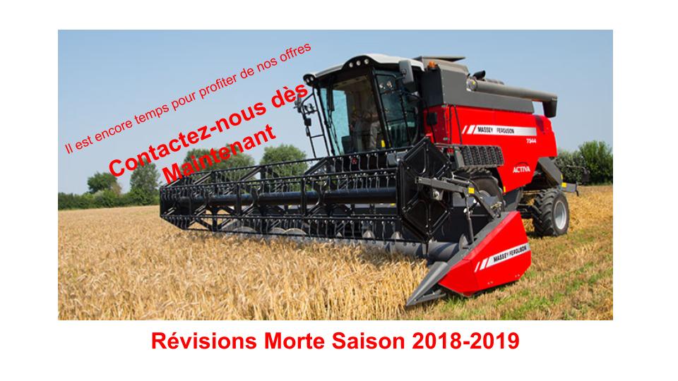 Révision Morte Saison 2018-2019