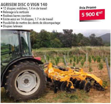 AGRISEM DISC 0 VIGN 140
